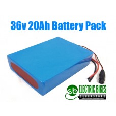 CLEAR COVER 36V20AH 720WH BATTERY PACK
