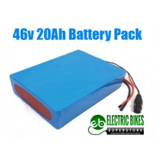 CLEAR COVER 48V20AH 960WH BATTERY PACK