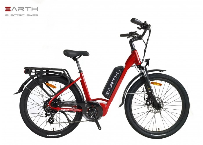 Earth AIR Mixie Commuter Red
